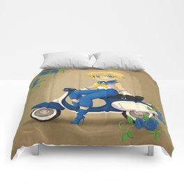 Retro Sailor Uranus Comforters