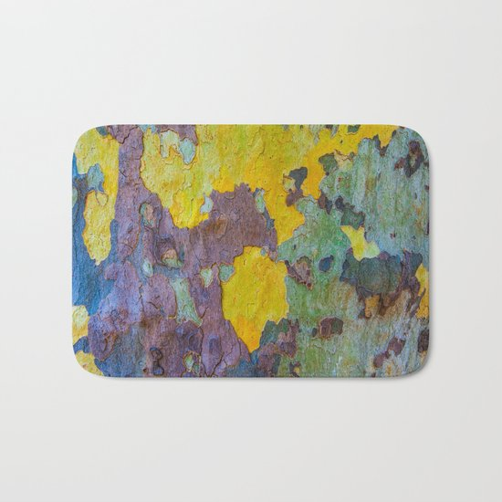 Face of Tree Bath Mat