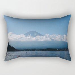 Good Morning Fujisan Rectangular Pillow