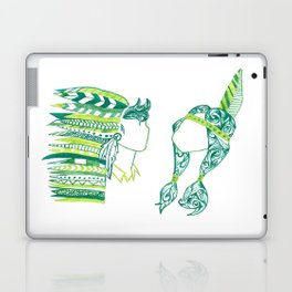 Peter Pan and Tiger Lilly Laptop & iPad Skin