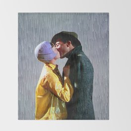 Singin' in the Rain - Slate Throw Blanket