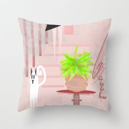 THE NIGHT OUT Throw Pillow