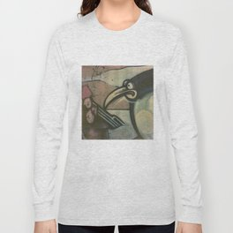 Penguin Graffiti Long Sleeve T-shirt