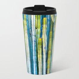 Colorful cactus painting Travel Mug