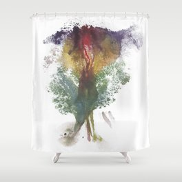 Devon's Vulva Print No.3 Shower Curtain