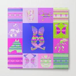 Indian patchworks73 Metal Print