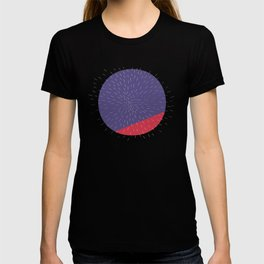 Retro Mod Flowers #5 by Friztin T-shirt