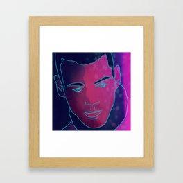 Brian J. Smith Will Gorski Sense8 Framed Art Print