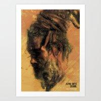 reggae Art Prints featuring Reggae Poster by Dimitris Evagelou