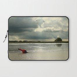 River Scene Laptop Sleeve