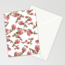 Pretty Vintage Florals Stationery Cards