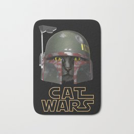Boba Cat Wars Bath Mat