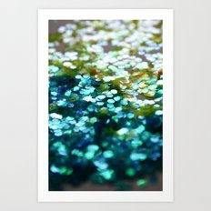 Mermaid Scales  Art Print