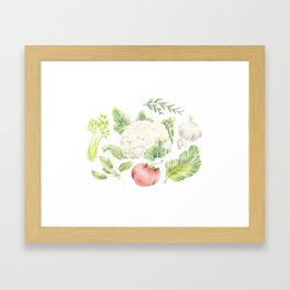 Companion Planting Framed Art Print