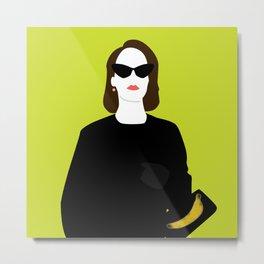 Lana Banana Metal Print