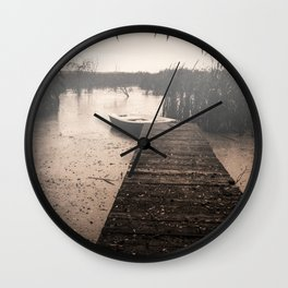 The fall  The Lake  The boat The drama Wall Clock