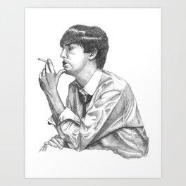 McCartney Portrait Art Print