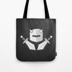 Exile From Ullathorpe - Helmet and Swords Dark Tote Bag