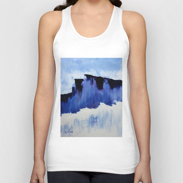 Cold Blue Unisex Tank Top