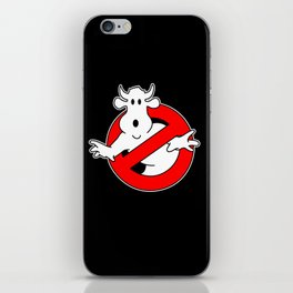 Cowbusters iPhone Skin