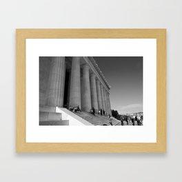 Lincoln Memorial III Framed Art Print