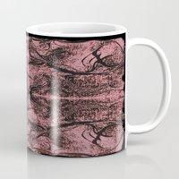 rorschach Mugs featuring Mystical Rorschach  by Art by Mel