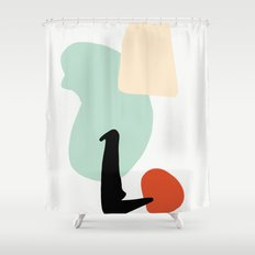 Matisse Shapes 4 Shower Curtain