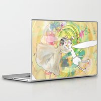 wedding Laptop & iPad Skins featuring wedding by Agata Kowalska