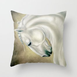 Beautiful Lusitano Horse Throw Pillow