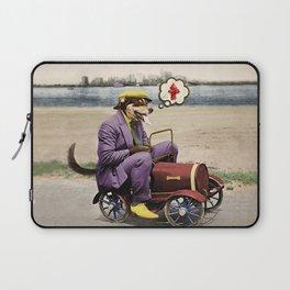Barkin' Down the Highway! Laptop Sleeve
