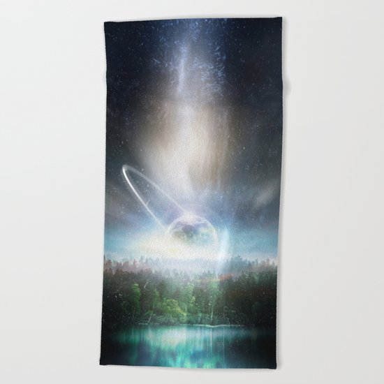 Death cup Beach Towel