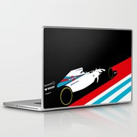 f1 Laptop & iPad Skins featuring Fw36  by Cale Funderburk