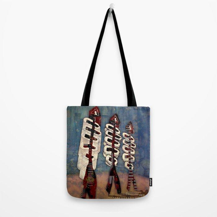 Atlante 18·5·16 / Fish Spines Tote Bag