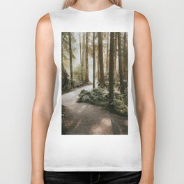 Lost in the Forest - Landscape Photography Biker Tank