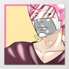 Pink Paladin Canvas Print