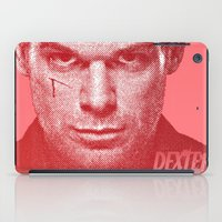 dexter iPad Cases featuring DEXTER by Hands in the Sky