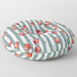 I dreamed of roses Floor Pillow