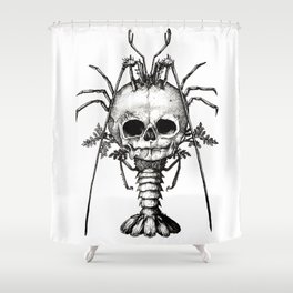 Curiosities - The Fontanelle. Shower Curtain