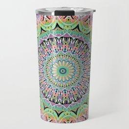 Black Pastel Mandala 012018 Travel Mug