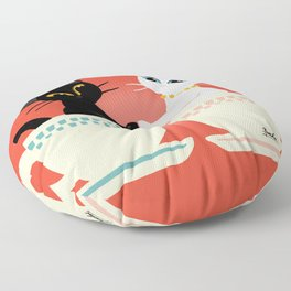 Pair cup Floor Pillow