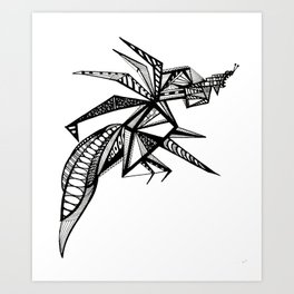 BIONIC Art Print