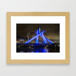 Olympic Cauldron Framed Art Print