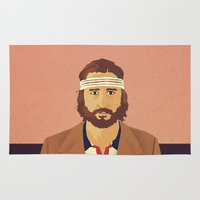 tenenbaums Area & Throw Rugs featuring Richie by Virtual Window