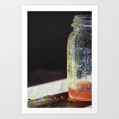 Sweeter than Honey - Kitchen Art Art Print