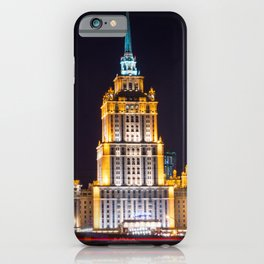 Seven Sisters Hotel Moscou iPhone Case