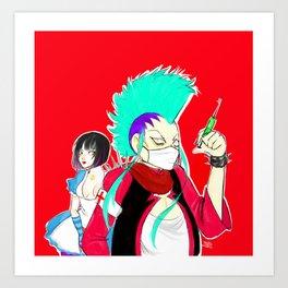 Acid Assassins Art Print