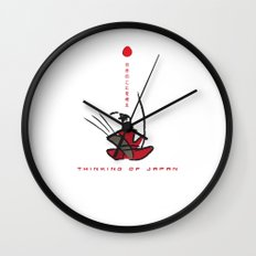 Thinking of Japan Wall Clock
