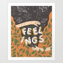 Feelings - Autumn Art Print