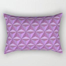 Geodesic Twilight Rectangular Pillow
