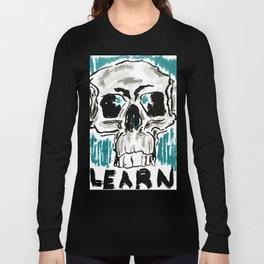 Learn: Skull Long Sleeve T-shirt